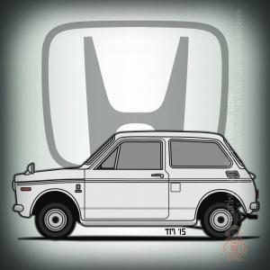 Honda N360 Kei Car by Tom Mayer